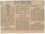 News Of Bygone Days, 17 February 1973 by Author Unknown