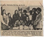 Student Council, 20 January 1971 by Author Unknown