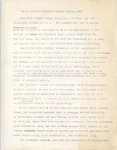 Black Affairs Committee Report, 12 May 1971 by Author Unknown