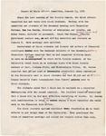Report of Black Affairs Committee, 13 January 1971 by Author Unknown