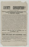 County Convention Address [in] Marshall County, October 1879 by Winfield Scott Featherston (1819-1891)