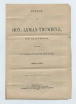 Speech of Hon. Lyman Trumbull, April 12, 1872