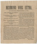 The Capture of Harper's Ferry; Richmond Whig Extra (19 September 1862)
