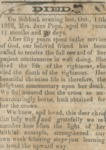 Obituary for Miss Jane Pope of Goodman, Miss. by Jane Pope