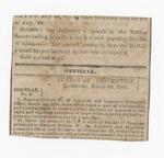 Circular No. 8 (excerpt) by Confederate States of America. Bureau of Conscription.
