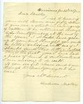 Henderson Newton to J. E. Davis, 24 January by Henderson Newton and Joseph E. Davis