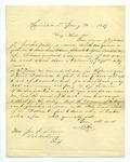 B. Montgomery to J. E. Davis, 31 January by B. Montgomery and Joseph E. Davis