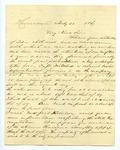 B. Montgomery to J. E. Davis, 28 February by B. Montgomery and Joseph E. Davis