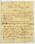 B. Montgomery to J. E. Davis, 4 July by B. Montgomery and Joseph E. Davis