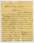 B. Montgomery to J. E. Davis, 9 September by B. Montgomery and Joseph E. Davis
