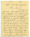 B. Montgomery to J. E. Davis, 6 January by B. Montgomery and Joseph E. Davis