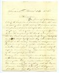B. Montgomery to J. E. Davis, 23 March by B. Montgomery and Joseph E. Davis