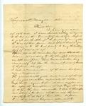 B. Montgomery to J. E. Davis, 25 May by B. Montgomery and Joseph E. Davis