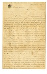 Folder 1: Undated 19th Century Correspondence and Fragment by Author Unknown