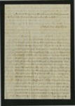 Folder 17: Correspondence and Documents, 1847 by Author Unknown