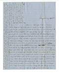 Folder 21: Correspondence and Documents, Circa 1850's by Author Unknown