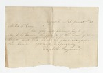 EBWS 2.16: Correspondence and Documents, 1866
