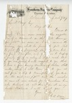EBWS 2.17: Correspondence and Documents, 1867