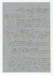 Letter dated Brigadier General W. S. Featherston to General I. Cooper. 15 July 1864 by Winfield Scott Featherston