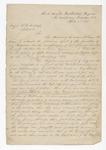 Letter from Brigadier General W. S. Featherston to Capt. Gale. 25 April 1865 28 July 1864 15 September 1864 by Winfield Scott Featherston