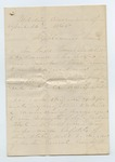 Manuscript. 26 April 1865 by Author Unknown