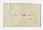 Letter from Mrs. W. S. Featherston to Mrs. L. Virginia French. 8 August 1866 by Lizzie McEwen Featherston