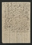 Letter from J. A. Orr to General W. S. Featherston. 20 May 1867 by J. A. Orr