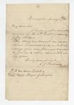"""Letter from A. C. McEwen in Holly Springs to """"My Dear Daughter."""" 1 July 1868 by A. C. McEwen"""