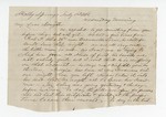 Letter from A. Dodge to W. S. Featherston 12 September 1868 by A. Dodge
