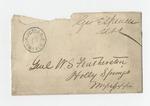 Letter from John Freeman to General Featherston 11 July 1869 by John Freeman