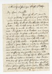 """Letter from A. C. McEwen to """"My Dear Daughter."""" 6 September 1869 by A. C. McEwen"""