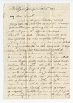 Letter from Thomas C. Williams to General Featherston. 26 March 1870 by Thomas C. Williams