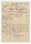 Letter from Whelan to General W. S. Featherston. 19 June 1871 by Author Unknown