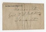 Letter from N. H. Harris to General W. S. Featherston. 26 January 1878 by N. H. Harris