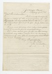 Letter from W. S. Featherston to John T. Hull. 16 May 1878 by Winfield Scott Featherston