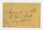 Letter from Maj. E. Barksdale to Gen. W. S. Featherston. 8 July 1880 by E. Barksdale