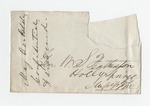 Letter from Thomas McCarthy to W. S. Featherston. 17 June 1882 by Thomas McCarthy