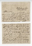 """Letter dated from W. S. Featherston to """"My Dear Son."""" 12 June 1885 by Winfield Scott Featherston"""