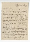 Letter from Marcus J. Wright to W. S. Featherston. 14 July 1887 1861 by Marcus J. Wright