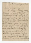 Letter from D. M. Featherston to Mrs. Connell. 19 August 1899 by D. M. Featherston