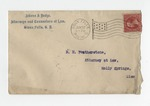 Letter from Lucy R. Connell to D. M. Featherston. 18 October 1900 by Lucy R. Connell