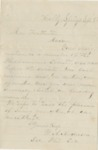 Letter dated from W. A. Anderson to Mrs. Featherston. 8 September by W. A. Anderson