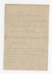 Letter from J. J. Worshaw to Thomas H. Harris. 20 November 1865 by J. J. Worshaw