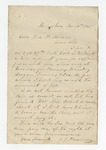 """Letter from S. H. Harris to """"Dear brother."""" 2 February 1866 by S. H. Harris"""