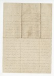 """Letter dated from S. H. Harris to """"Dear brother."""" 16 March 1866 by S. H. Harris"""