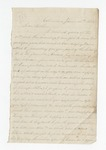 """Letter from S. H. Harris to """"Dear brother."""" 7 August 1866 by S. H. Harris"""