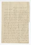 "Letter from N. J. Shrine to ""Harris."" 31 August 1866 by N. J. Shrine"