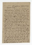 """Letter from S. H. Harris to """"Dear brother."""" 16 September 1866 by S. H. Harris"""
