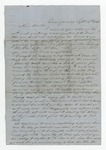 """Letter from S. H. Harris to """"Dear brother."""" 25 September 1866 by S. H. Harris"""
