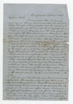"""Letter from S. H. Harris to """"Dear Brother."""" 13 October 1866 by S. H. Harris"""